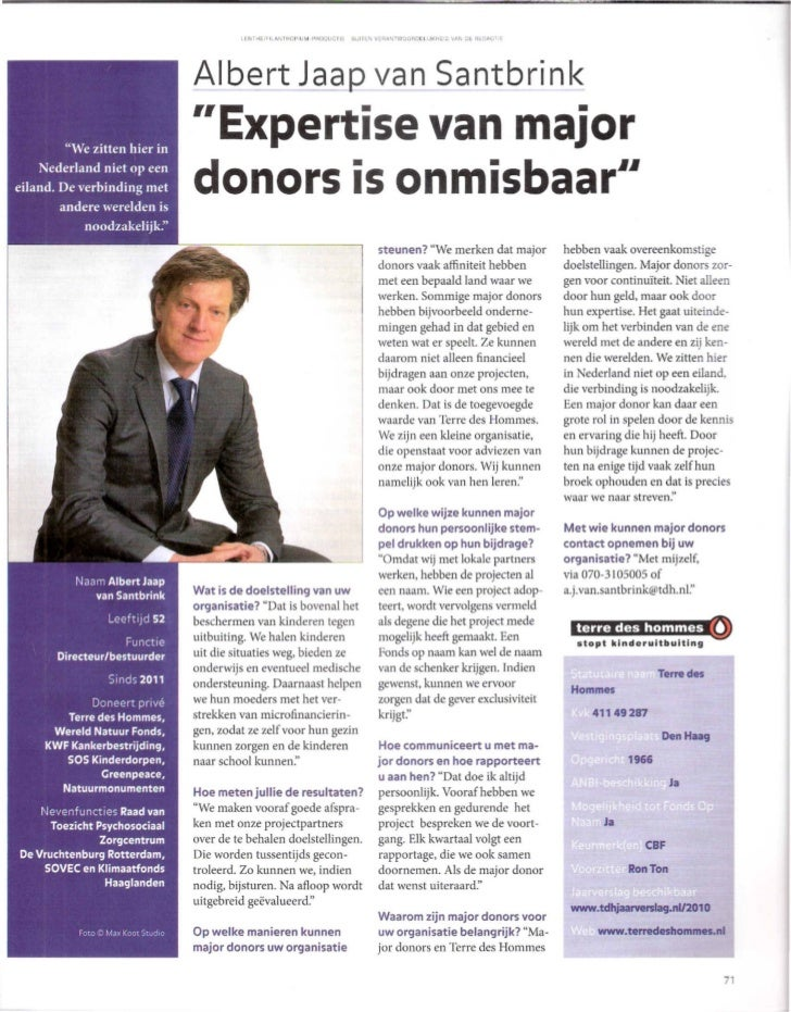 Financieel Dagblad bijlage december 2011
