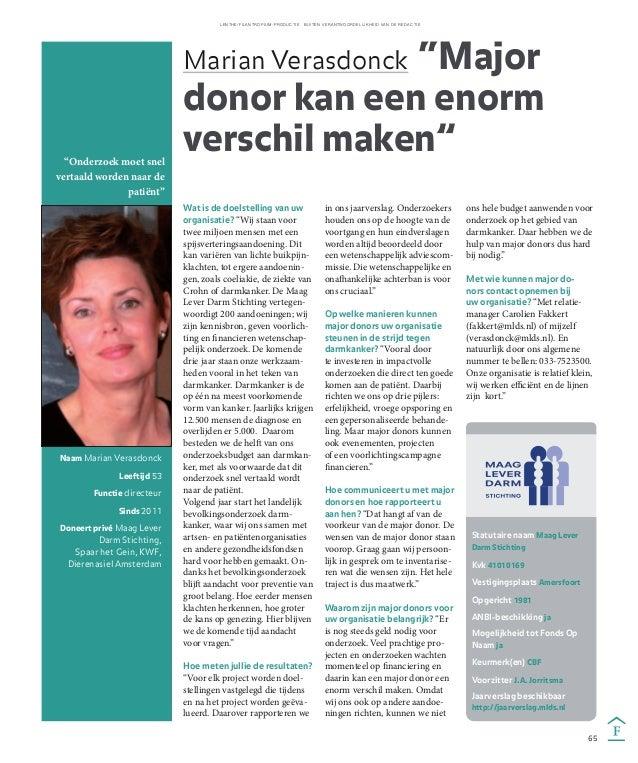 Interview Marian Verasdonck (MLDS) voor de bijlage van het Financieele Dagblad