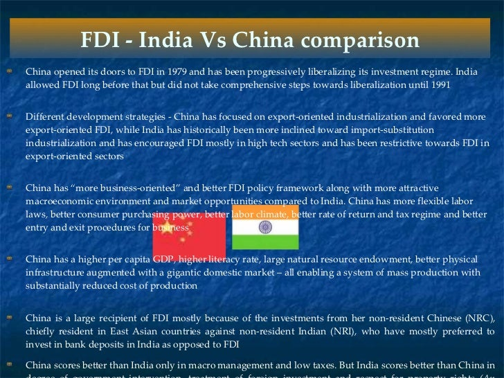 india china comparison India and china on the internet: how government initiatives, infrastructure, business experience and culture intervene.