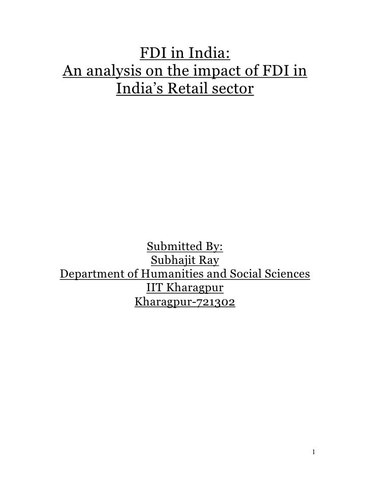 dissertation fdi impact on chinese Thesis or dissertation china has experienced high foreign direct investment and sectoral distribution in china and evaluates the impact of fdi on chinese.