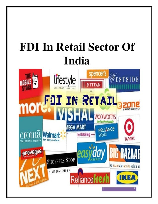 fdi in retail sector india