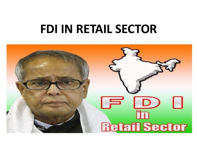 Fdi in retail sector