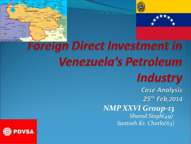 Fdi in Venezuela's Petroleum Industry