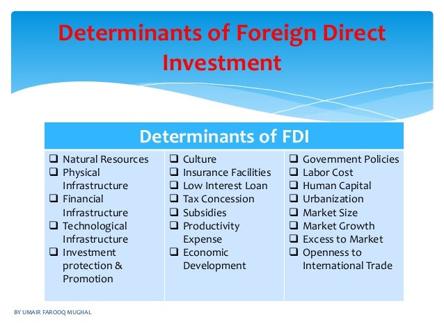 determinant of fdi Foreign direct investment nigeria, how it impact on nigeria economic growth with the use of var, vecm to test the relationship, download the full.