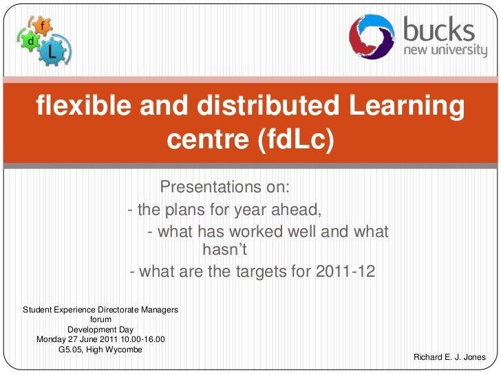 Fd lc sed presentation 27th june 2011