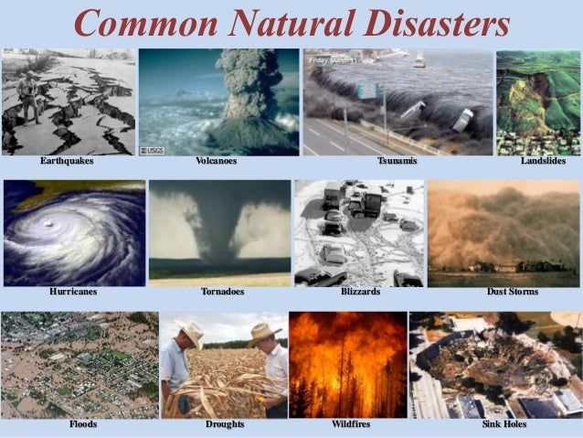 Natural Disasters Hurricanes