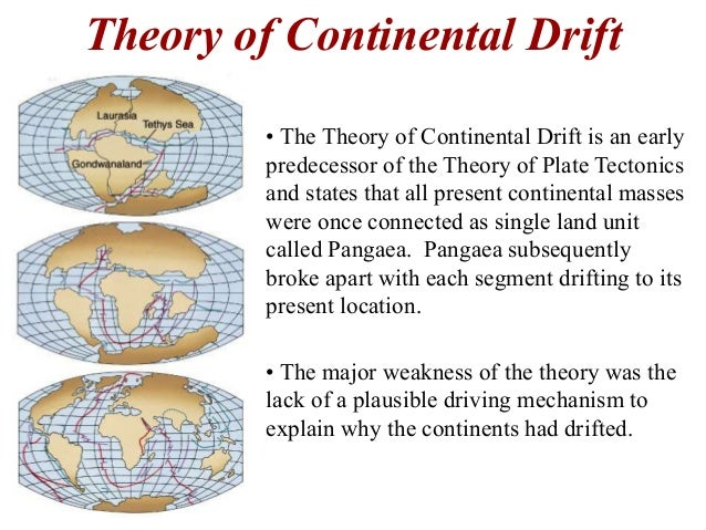Essay Theory Of Continental Drift