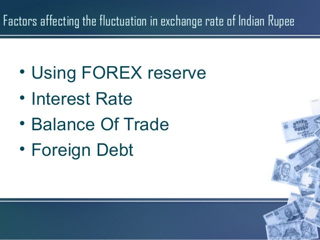 Forex fluctuation reserve