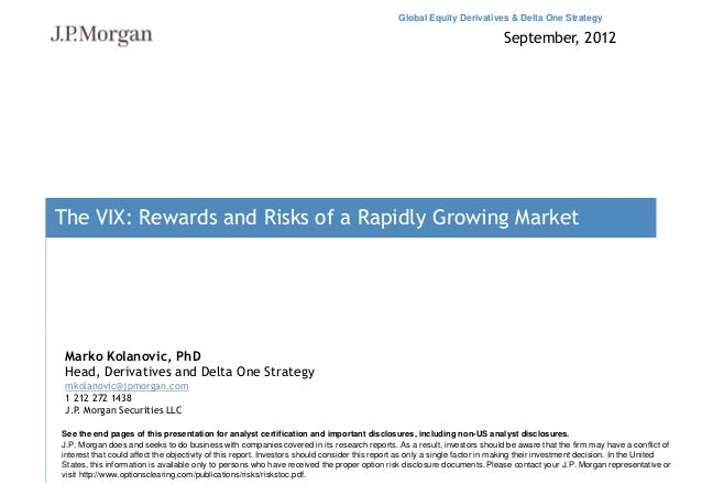 Global Equity Derivatives & Delta One Strategy                                                                            ...