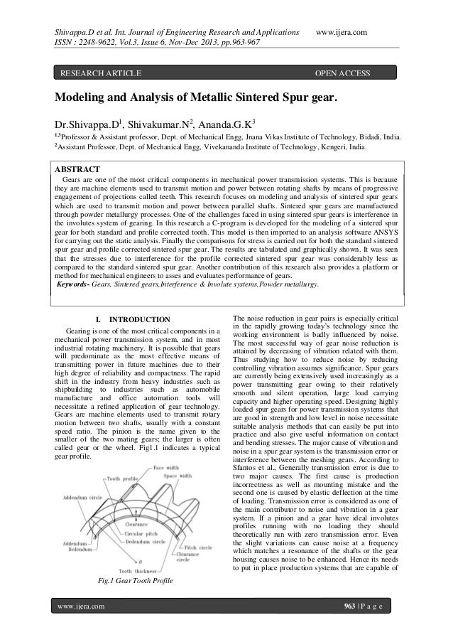 Shivappa.D et al. Int. Journal of Engineering Research and Applications ISSN : 2248-9622, Vol.3, Issue 6, Nov-Dec 2013, pp...