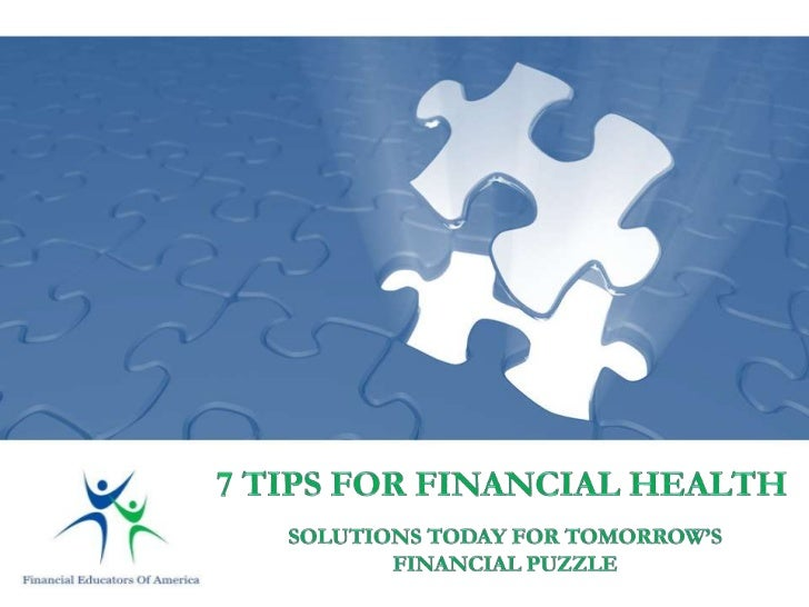 Is your financial health, like many other Americans,struggling in these tougheconomic times?Are you looking for someone or...