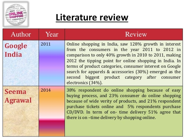 literature review consumer behaviour online shopping