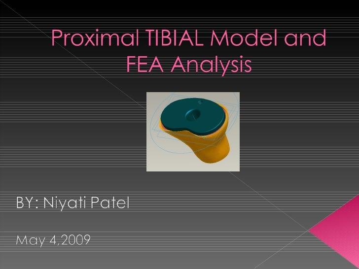 Fea Proximal Tibial