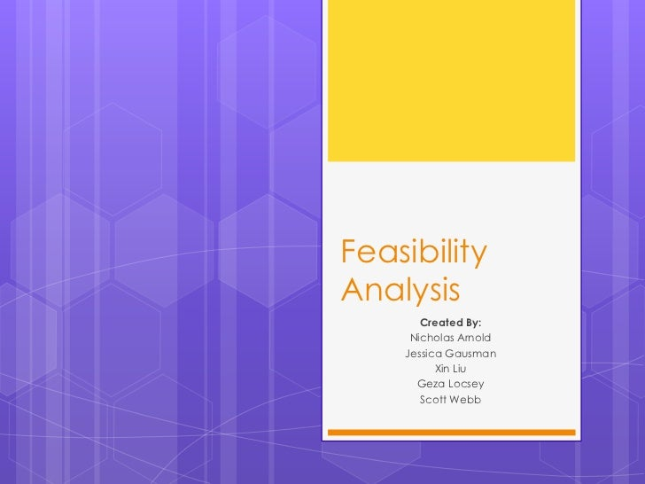 Feasibility analysis ppt