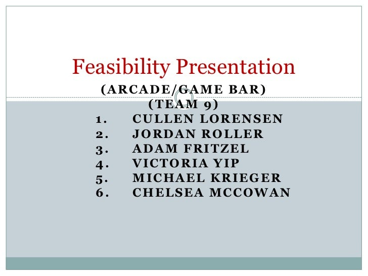 Feasibility presentation powerpoint