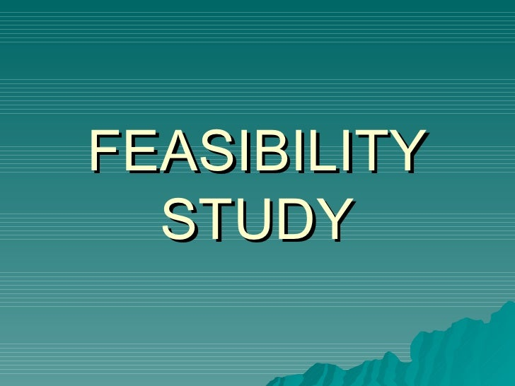introduction of feasibilty Feasibility study template gives decision makers responsible for undertaking a feasibility analysis a starting point for creating a comprehensive document.