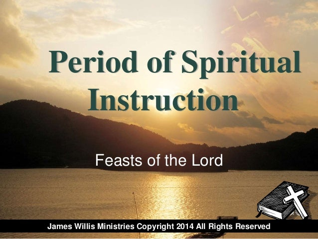 Feasts of the lord 2014