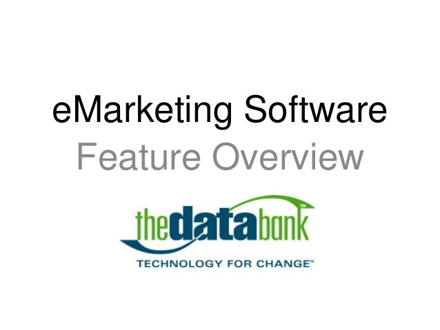 eMarketing Software Feature Overview