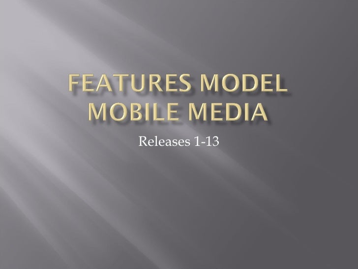 Features Model