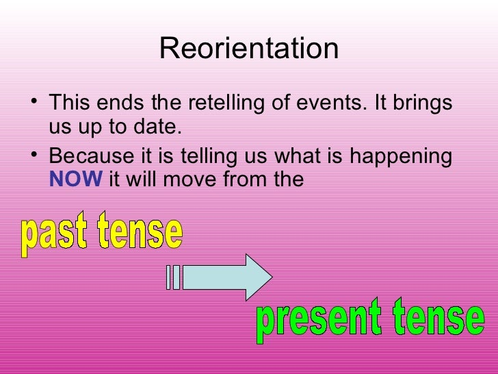 Writing thesis past or present tense
