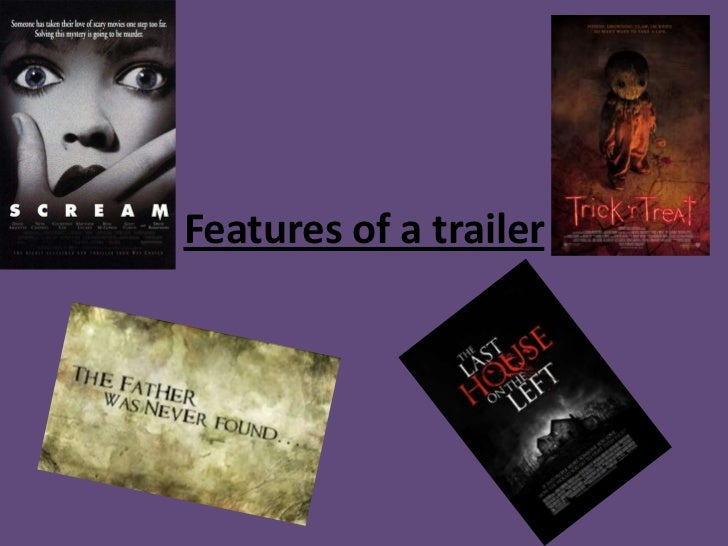 Features of a trailer