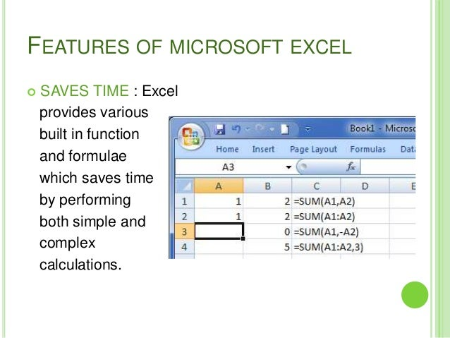 Ediblewildsus  Sweet Features Of Microsoft Excel With Inspiring  Features Of Microsoft Excel  With Easy On The Eye How To Do Sum On Excel Also F Test Excel In Addition Excel Combinations And How To Make Graphs On Excel As Well As Graph On Excel Additionally Substitute Excel From Slidesharenet With Ediblewildsus  Inspiring Features Of Microsoft Excel With Easy On The Eye  Features Of Microsoft Excel  And Sweet How To Do Sum On Excel Also F Test Excel In Addition Excel Combinations From Slidesharenet