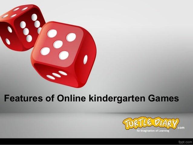 Features of Online Kindergarten Games