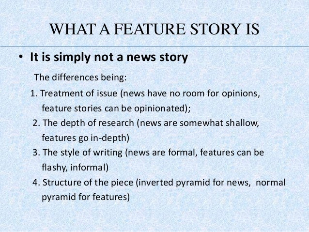example of news writing article