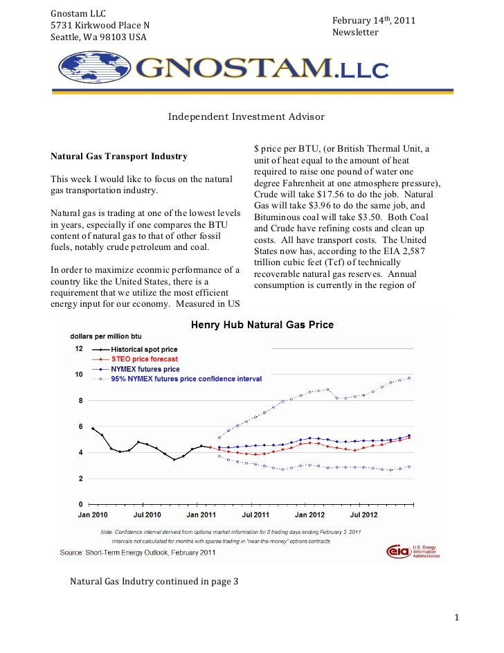 Feb 15 2011 Newsletter