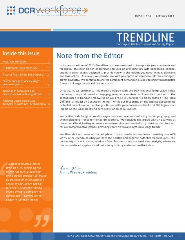 REPORT # 12 | February 2013                                                                                               ...