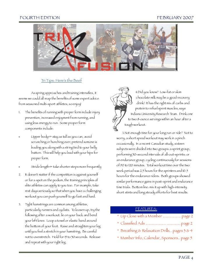 TriFusion Newsletter - Feb.'07