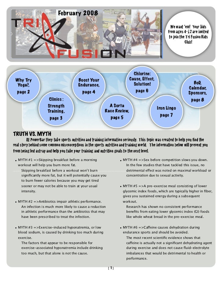 TriFusion Newsletter - Feb.'08