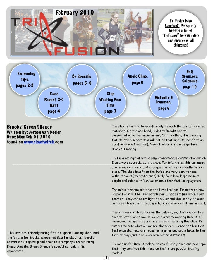 TriFusion Newsletter - Feb.'10