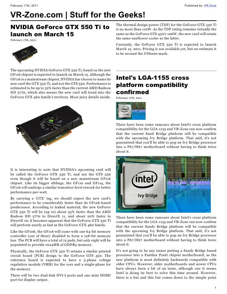 VR-Zone | Stuff for the Geeks - February 18 Issue