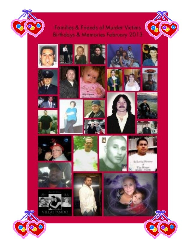 FAMILIES & FRIENDS OF    MURDER VICTIMS, Inc.                                  Need Someone to Talk To?          (FFMV)   ...
