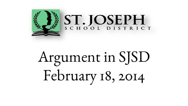 Argument in SJSD February 18, 2014
