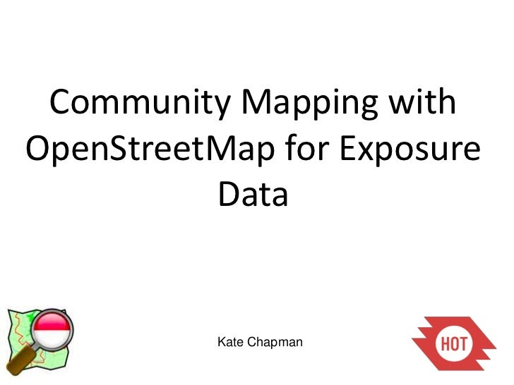Community Mapping using OpenStreetMap in Indonesia -Feb Update