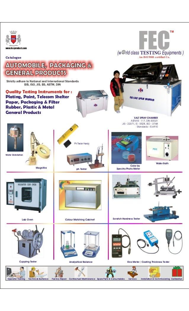 FEC Product Brochure