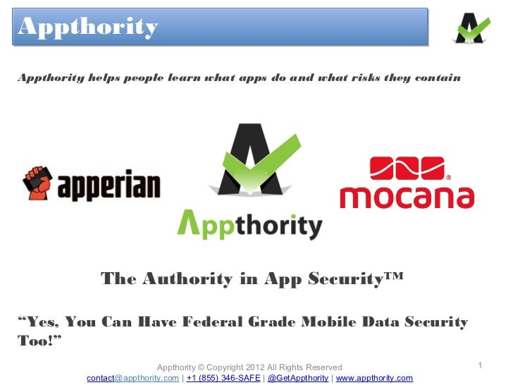 AppthorityAppthorityAppthority helps people learn what apps do and what risks they contain             The Authority in Ap...