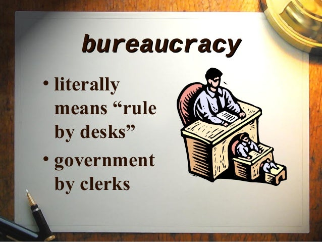 federal bureaucracy Although scholars have focused much attention on relations between these two  groups within the federal bureaucracy, their day‐to‐day.