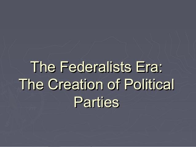Goal 1 Federalism