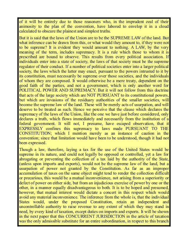 nature of power of taxation essay By nature, power to tax is inherent in a sovereign estate so that the grant of which is not necessary but the exercise is in the next post will be the limitations and other topics of general principles) posted in: and taxation,general principles,limitations,tax,taxation power.