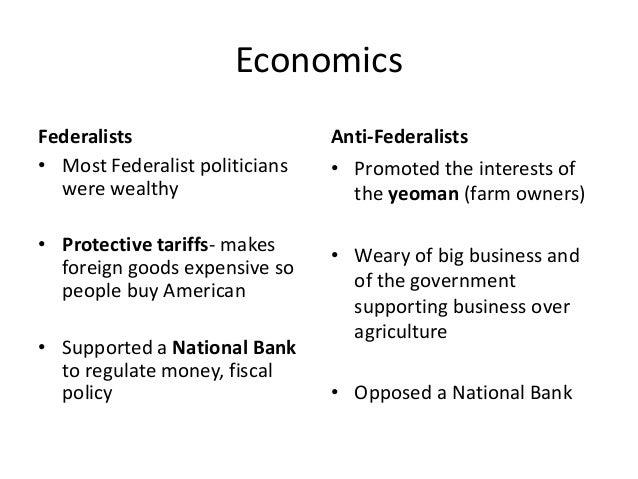 essay on federalists vs anti federalist