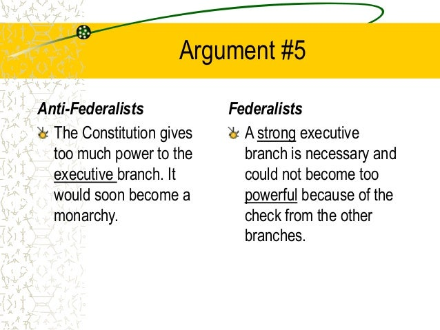 anti federalist essay An essay or paper on anti-federalists who opposed the ratification of the constitution anti-federalists were people who opposed the ratification of the constitution.