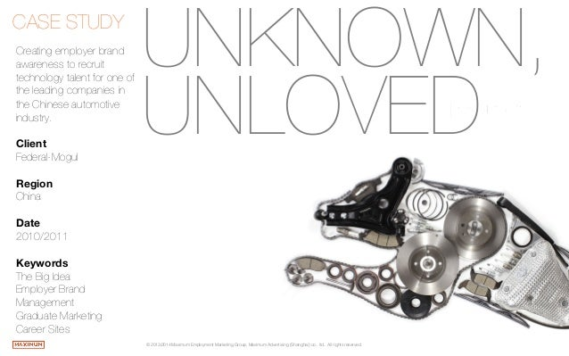 Unknown, Unloved - Federal Mogul