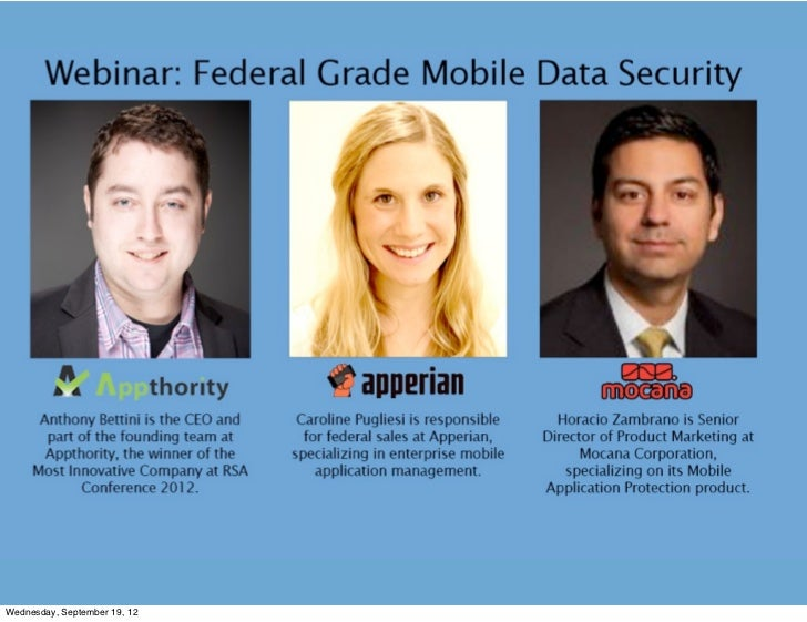 Yes, You Can Have Federal-Grade Mobile Data Security, Too!