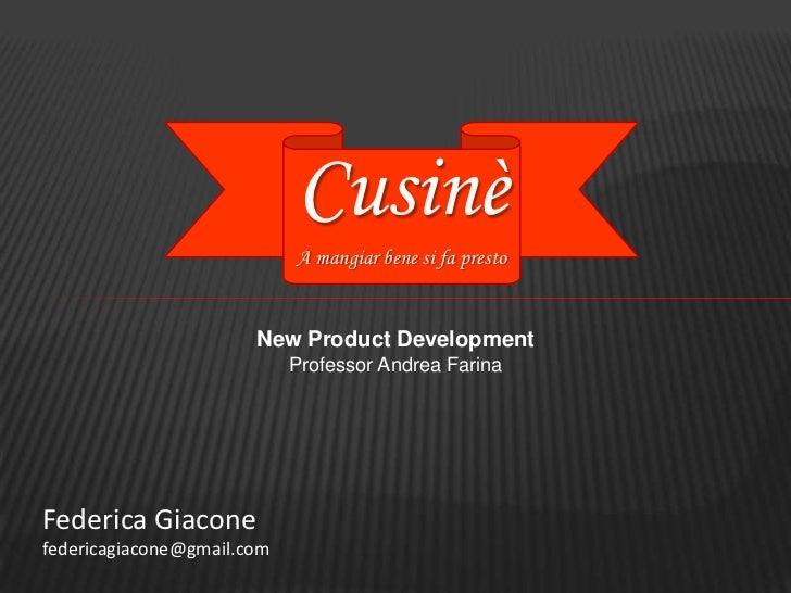 "Case study MMC: New product development ""Azienda C"""