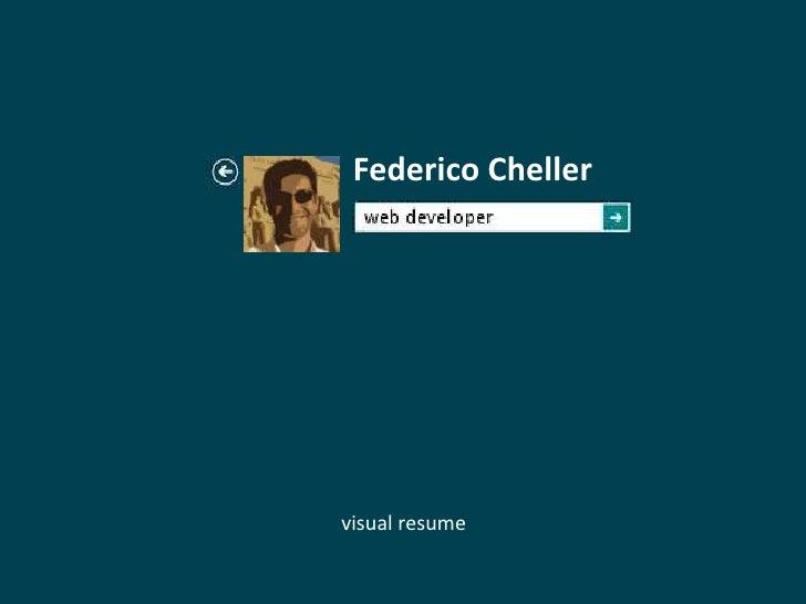 Federico Chellervisual resume