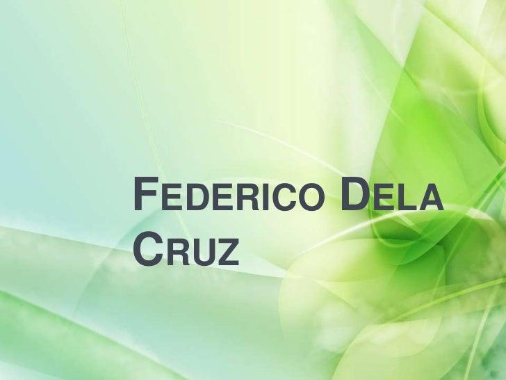 FEDERICO DELACRUZ