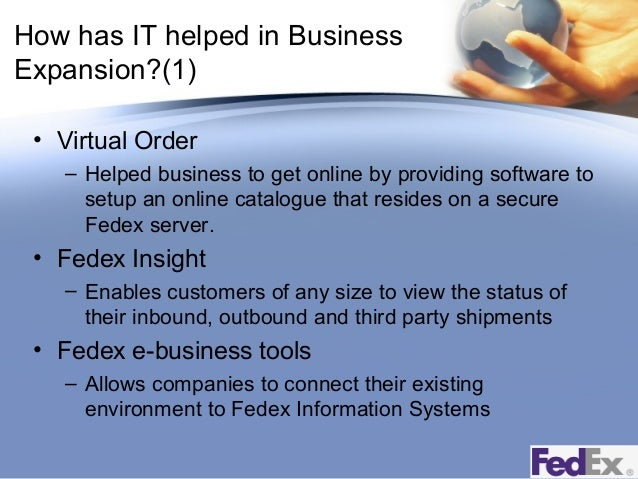 a company overview and business strategies of fedex Strategic report for fedex corporation company overview business model fedex is a global shipping and solutions corporation that provides services to.